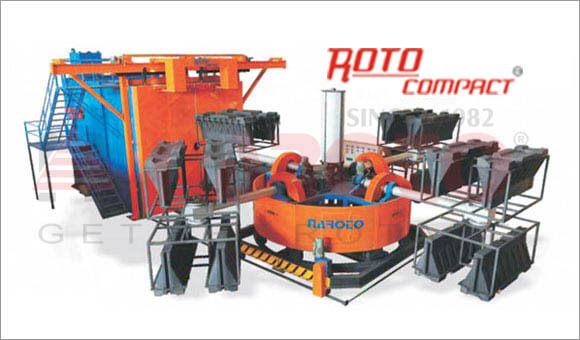 Rotomoulding Machine Bia Axial Rotomoulding Machines